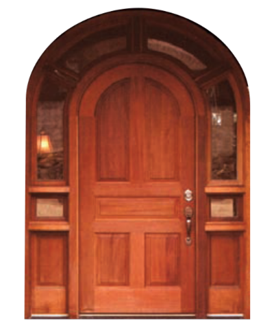 Etonnant ESI 1 · Round Wood Top Door ...