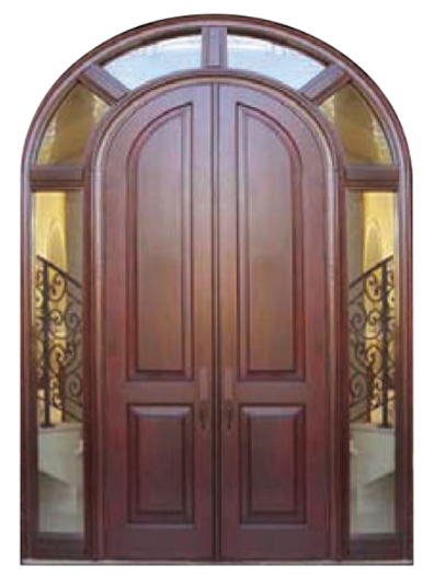 Wood Round Top Door - ESI-4
