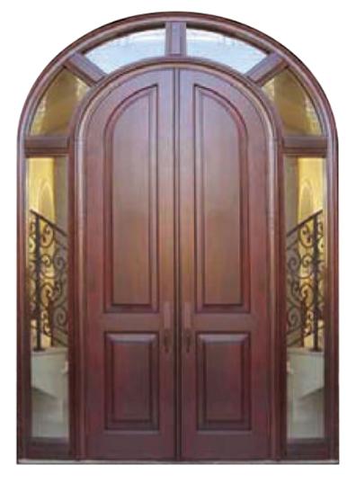 Wood Round Top Door   ESI 4